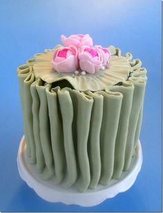 Beautiful spring cake