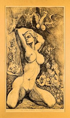 state of mind Marcel, Erotic Art, Dark Fantasy, Artist, Sketch, Painting, Author, Illustrations, Drawings