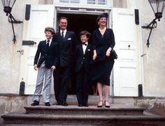 Danish Royal Media Watch: Crown Prince Frederik's Confirmation, 1981-Prince Joachim, Prince Henrik, Crown PRince Frederik, Queen Margrethe