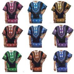 Women Traditional African Print Dashiki Dress Short Sleeve Party Black Shirt #Handmade #SundressShirtDress #Casual African Dashiki Shirt, African Blouses, Dashiki Dress, African Men, Mens Fashion, Fashion Outfits, Amazing Women, Blouses For Women, Short Sleeve Dresses