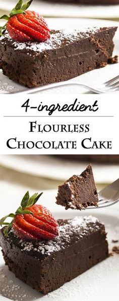 This easy flourless chocolate cake is amazingly dense, rich and decadent. Every … This easy flourless chocolate cake is amazingly dense, rich and decadent. Every bite is packed with intense bittersweet chocolate flavor. Flourless Chocolate Cakes, Chocolate Flavors, Chocolate Recipes, Cake Chocolate, Flourless Desserts, Chocolate Chocolate, Gluten Free Chocolate Cake, Easy Chocolate Desserts, Homemade Chocolate