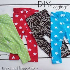 HareKanin: DIY - Leggings