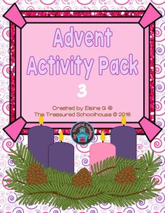 Advent Activity Pack 3