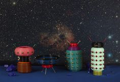alessandro zambelli debuts first collection and it is literally out of this world