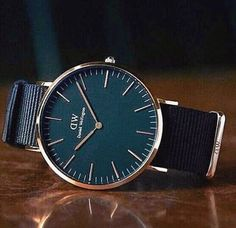 """Classic Black Cornwall 36 Rose Gold Daniel Wellington watch. Use the code """"unamia"""" to get 15% off all products at www.danielwellington.com"""