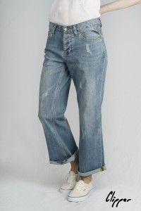 Women's Beach Denim Organic Clipper Jeans WAS £70 NOW £45 Available Now at Monkeegenes.com