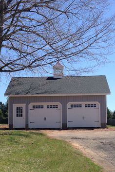This 24' x 30' 2 Car Elite garage features a full second-floor (like all of our Elite garages). Think of all the possibilities with all this space.