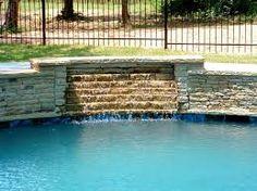resultado de imagen para swimming pools with waterfall designs. Interior Design Ideas. Home Design Ideas