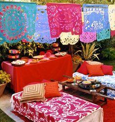Fiesta garden party