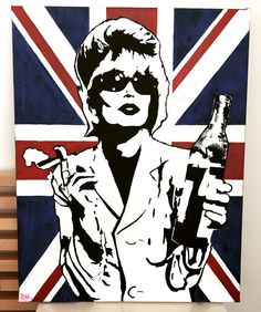 God Save the Mean Pop Art Custom Painting by ThatsHighlyOffensive on Etsy https://www.etsy.com/listing/229490227/god-save-the-mean-pop-art-custom
