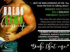 Break Down - A Dublin Rugby Romance - by Rebecca Norinne Book Teaser