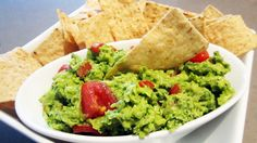 Ingredients  2 ripe avocados, diced  ¾ cup broccoli pieces (no stems) – finely chopped so it's virtually unrecognizable  1 tomato, diced  ¼ cup red onion, minced  1 garlic clove  1 tbsp lemon juice  Handful of fresh coriander (cilantro), chopped – optional  Salt    blend and fold all ingredients salt to taste.