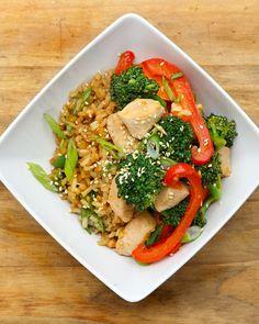 Chicken & Broccoli Rice Bowl