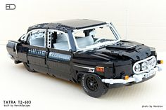 This utterly wonderful Technic Tatra 603 appeared here at The Lego Car Blog just over a year ago. Its maker, Horcik Designs, recently uploaded some superb new high-quality imagery courtesy of a fel…