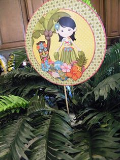 FlipChick Designs: Luau Party Feature