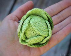 CHANTERELLE MUSHROOM crochet pattern PDF crochet por OlinoHobby