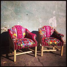 Sofia Doble Bohemian Chic chairs by Folk Project www.folk-project.com