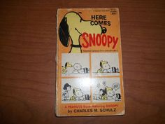 Here Comes Snoopy by Charles M Schulz (1968 paperback)