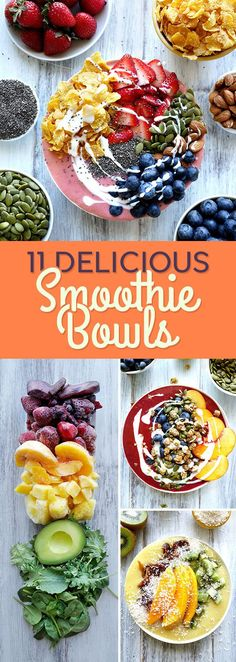 DIY 11 Breakfast Smoothie Bowls Recipes That Will Make You Feel Amazing #diy #breakfast #recipe