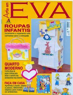 Artesanato com amor...by Lu Guimarães: Revista Arte em EVA Roupas Infantis