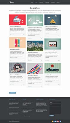 Ikaros #Free #Blog #Template, #Grid, #PSD, #Resource
