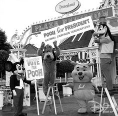 From the Archives: Pooh for President « Disney D23