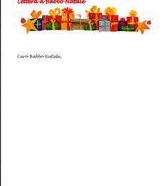 Lettere a Babbo Natale da stampare e compilare - 13/15