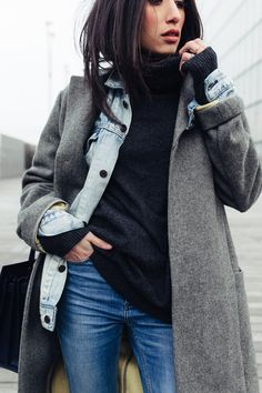 Winter layering outfits, winter date night outfits, winter night, layering clothes Winter Layering Outfits, Winter Date Night Outfits, Casual Winter Outfits, Layering Clothes, Winter Night, Outfit Winter, Women's Casual, Fashion Night, Look Fashion