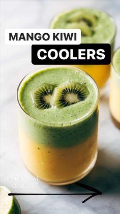 Healthy Desayunos, Healthy Smoothies, Healthy Drinks, Smoothie Recipes, Healthy Snacks, Juicer Recipes, Green Smoothies, Oven Recipes, Fudge Recipes
