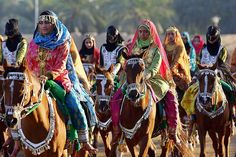 Oman hosts the annual festive -Royal Horse race- instead. The Arabian Peninsula is known for Bedouin