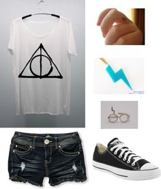 """""""harry potter outfit"""" by michela-nisselino ❤ liked on Polyvore"""