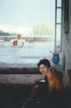 "George Harrison, Porto Rafti, Greece, 1979, photographed by Olivia Harrison; scanned from Living in the Material World Photo: Olivia Harrison © The Harrison Family """"Whatever the inspiration,..."