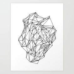 Geometric pattern 02 black and white linework Art Print by Birgithe Solstrand Design Elements, Graphic Design, Art Prints, Black And White, Cool Stuff, Drawings, Pattern, Home Decor, Elements Of Design