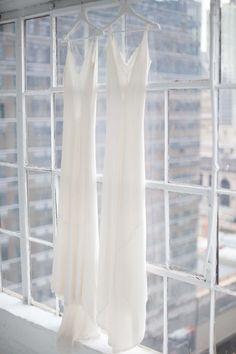 Silk Slip gowns / A La Robe