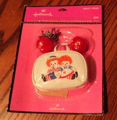 Hallmark 1970's Raggedy Ann & Andy Party Favor Purse With Jacks.. Mint in PKG | eBay