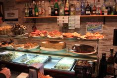 When you walk into a Spanish bar, and you see the tapas, you feel hungry straight away.