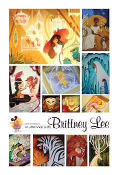 An Afternoon with Brittney Lee 3d Paper Art, Paper Artwork, Paper Crafts, Brittney Lee, Cut Out Art, Disney Artists, Paper Cutting, Cut Paper, Illustration Art