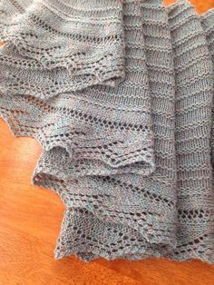 Ravelry: Shoreline pattern by Sherri Matteo would love this in a real rough, sandy colour