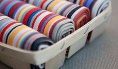 Les Toiles Du Soleil Beach Chairs, Decoration Table, Artisanal, France, Stripes, House Design, Boudoir, Fabrics, Satin
