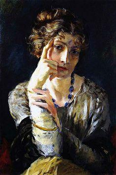 Ritratto di Madame Henriette Fortuny, 1915