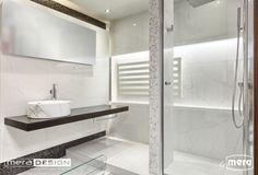 Wyjątkowa łazienka wykonana przy pomocy biura projektowego Mera Design