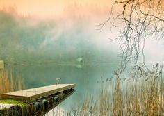 misty lake somewhere in Scotland...