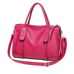 awesome Faux-Leather Shoulder Bag