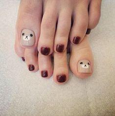 Ideas nails maroon beautiful for 2019 – Nail Art Cute Toe Nails, Toe Nail Art, Love Nails, My Nails, Nails For Kids, Feet Nails, Minimalist Nails, Manicure E Pedicure, Best Acrylic Nails