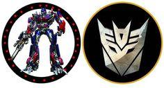 Kit para Fiestas de Transformers, para Imprimir Gratis.