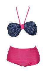BIQUÍNI VINTAGE PINK POLKADOTS S.S. #retro #vintage #polkadots #pinup #poá #maiôretro #maioretro #maiovintage #summer #modapraiaretro #retrô #maiô #maio #girl #May #swimsuit #retroswimsuit #surpreendastore #bikini #bikiniretro #bikinivintage #higtwhats #biquinevintage #biquineretro biquinipinup