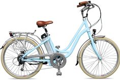 I WANT THIS BEAUTY!!! Kensington Step Through Electric Bicycle by UK electric bicycle manufacturer VOLT™