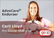 Carli Lloyd - Gold Medalist, Advocare Endorser - scoring both goals in the Gold Medal game at the 2012 Olympic Games.  Way to go USA!!