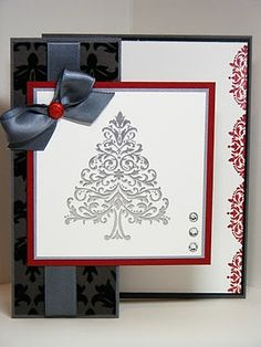 christmas cardstampin up
