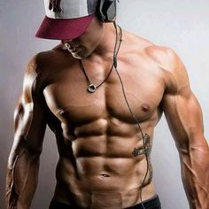 Yumm! I told my bf to look like him but he told me that's all steroids...